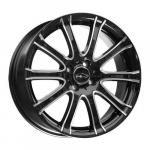 "alu kola COM4WHEELS octopus-x black 7x16"" 5x100 ET38"